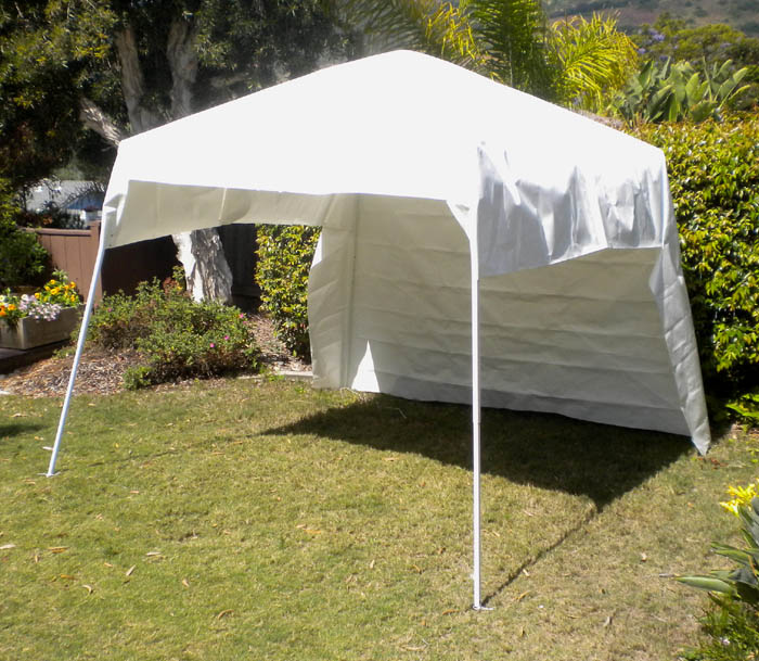 Single sheet of 12u0027 x 15u0027 Snow White CoolTarp installed on a 10u0027 & Snow white CoolTarp-popup-sml.jpg